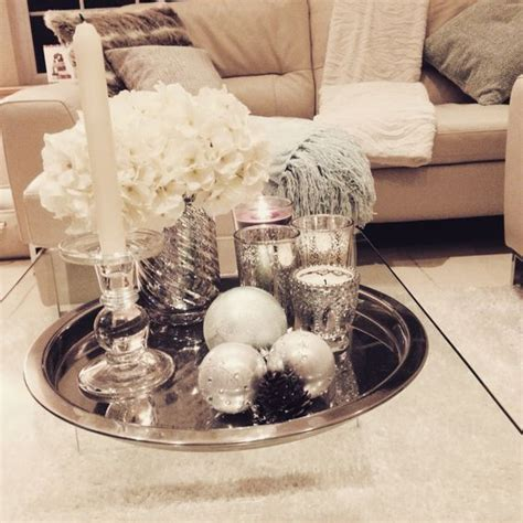 Glass Coffee Table Silver Tray Coffee Table Decor Home Silver Tray Coffee Table
