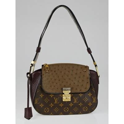 louis vuitton limited edition bordeaux exotique monogram
