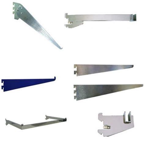 chrome slotted wall shelf bracket bracket id 8585118