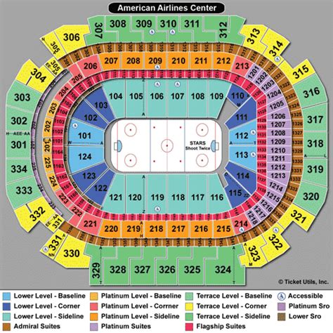 american airlines center seating chart rows american airlines center tickets aac events seating