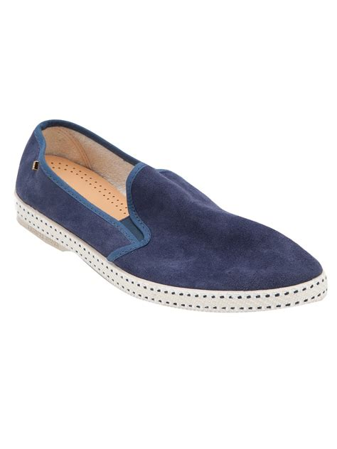 rivieras shoes rivieras marine shoe in blue for lyst