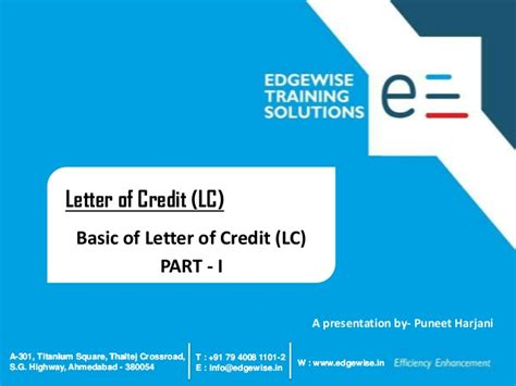 Letter Of Credit Bangladesh Bank Letter Of Credit Lc Presentation