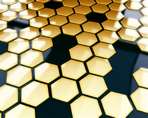 gold honeycomb pattern honeycomb siliconangle