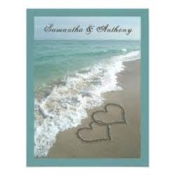 Beach Ocean Wedding Save The Date Postcard » Home Design 2017