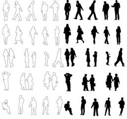 Figure Outline Photoshop by Architecture Silhouettes Classical Elements Architectural Drawings And