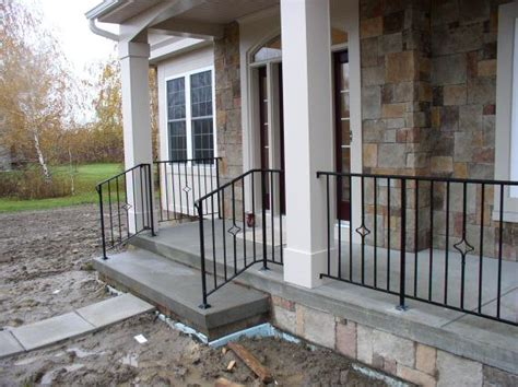 front porch metal railings wrought iron porch railings custom metal wrought iron