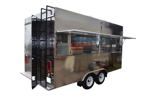 Step in Tacos Trailer by Kareem Carts Manufacturing Company