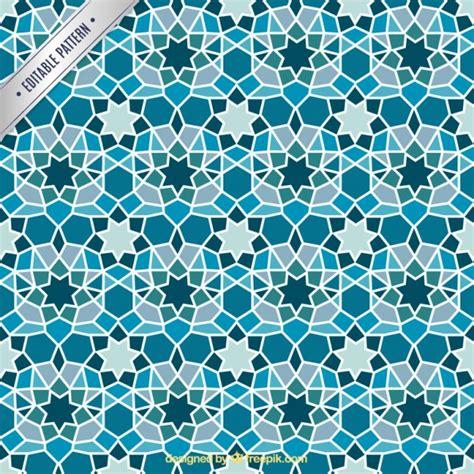 colors islamic mosaic vector premium download blue geometric mosaic background vector premium download