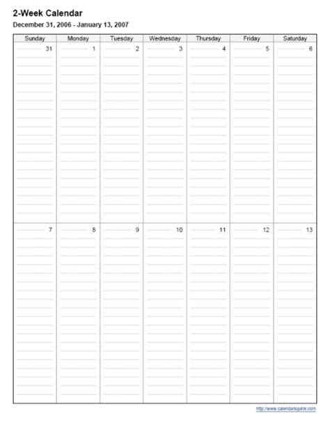 two week calendar template free 2 week calendar page calendar template 2016