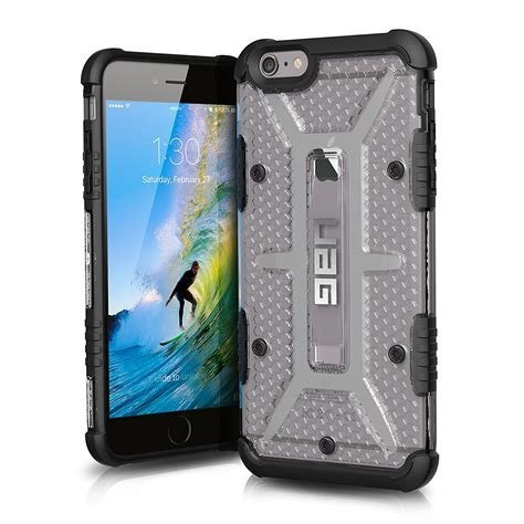 Uag Iphone 6 6g 6s Armor Gear Cover Bumper Hardcase Black uag iphone 6 plus iphone 6s plus feather light composite