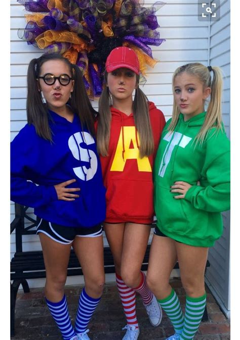 alvin chipmunks cool halloween costumes cute halloween