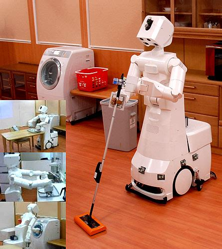home cleaning robots rosie the robot maid made by toyota impact lab