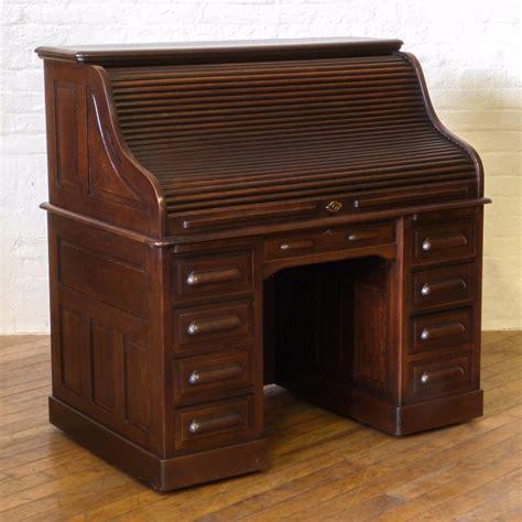 edwardian oak roll top desk b 008 la76941