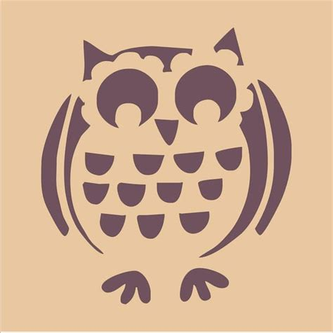 printable owl stencil pumpkin owl stencil for pumpkin carving crafts pinterest