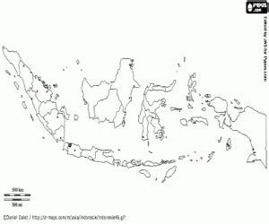indonesia map coloring page political maps of asia countries coloring pages printable