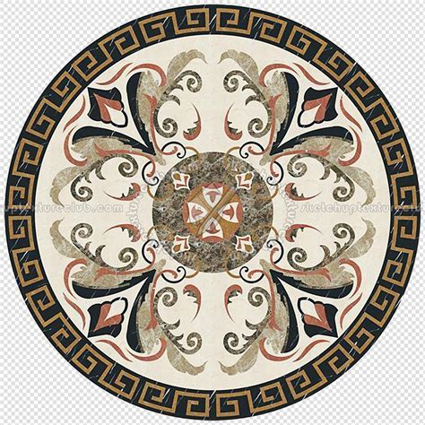 Water jet medallion texture seamless 16338