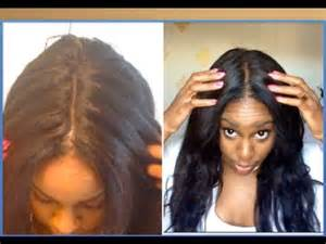 how does the look hair style look hair how to make your lace wig look too natural youtube
