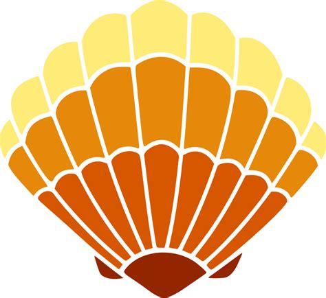 sea shell clip clipart sea shell 45 colour 2