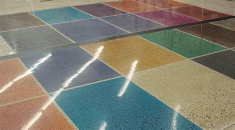 diy terrazzo floor staining terrazzo floors flooring ideas and inspiration
