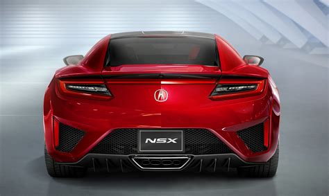acura supercar the new 2016 acura nsx supercar revealed ruelspot com