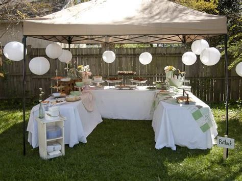 backyard party setup 25 best ideas about backyard birthday parties on