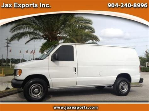 how cars engines work 2003 ford e series navigation system find used 2003 ford e series cargo van 7 3 liter power