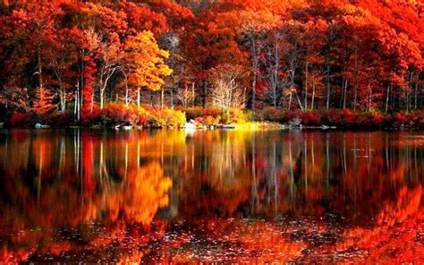 fall backgrounds autumn lake desktop wallpaper wallpapersafari