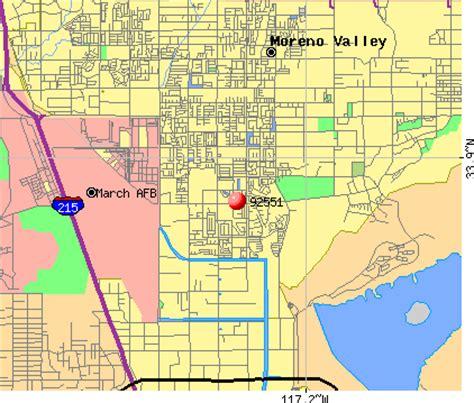 moreno valley california map 92551 zip code moreno valley california profile homes