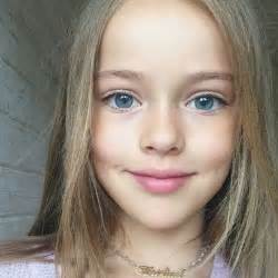 Meet the eight year old child model dubbed the most beautiful girl in