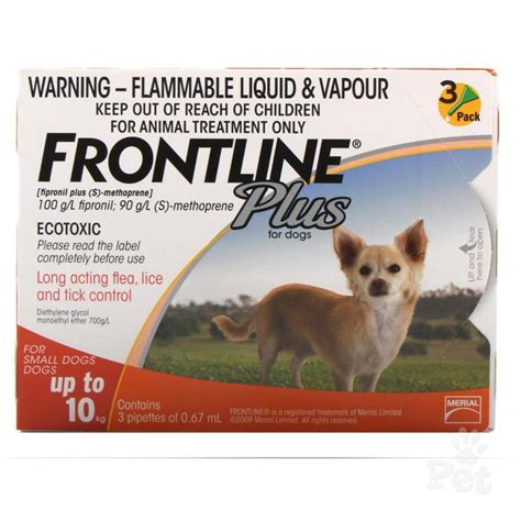 frontline for dogs frontline plus for dogs
