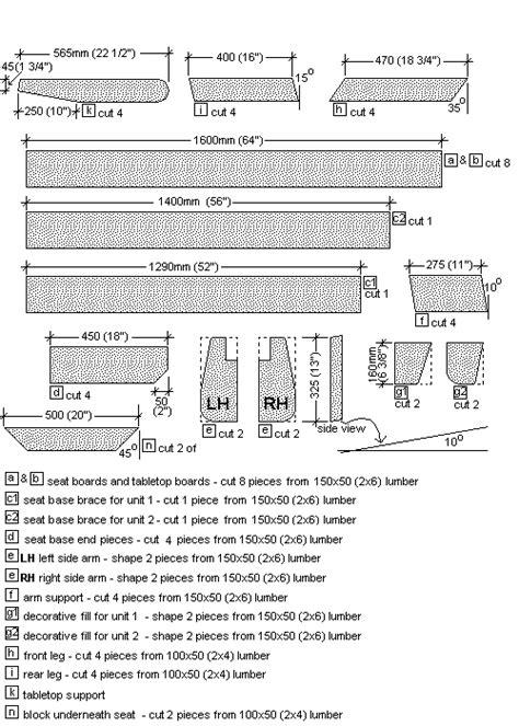 folding picnic table bench plans free free folding picnic table plans the parts