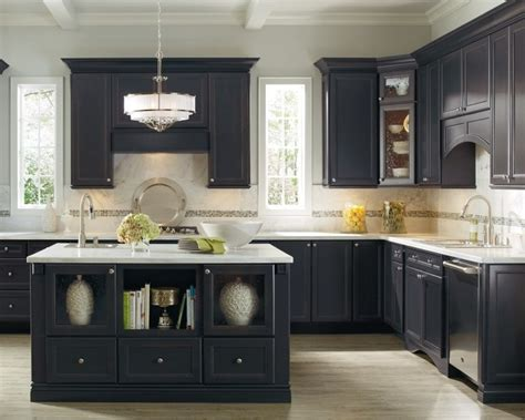 Niagara Cabinets by Corina Maple Graphite Niagara Kitchen By Thomasville