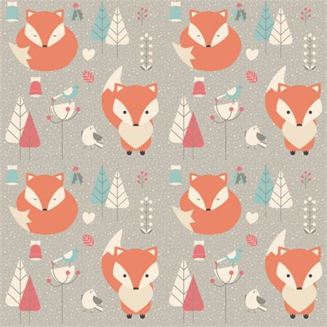 cute pattern animal coloured animals pattern vector free download