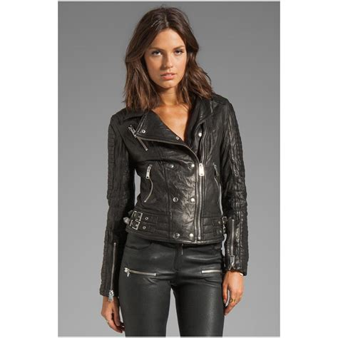 womens moto leather jacket caffection