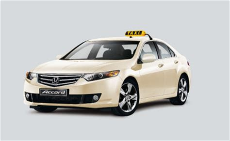 Auto Taxi by Honda Bietet Accord Als Taxi Sondermodell Auto