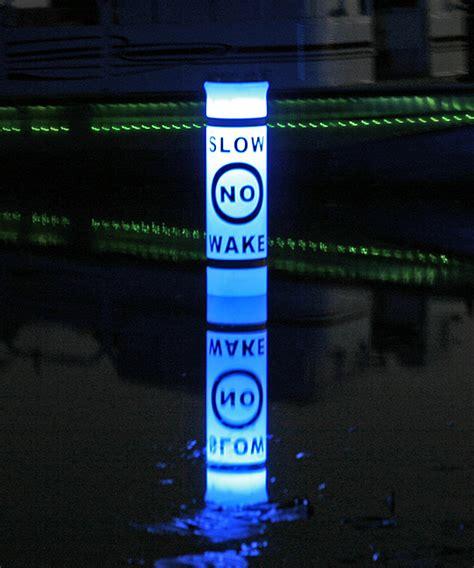 solar powered buoy lights buoy illuminated by solar lights