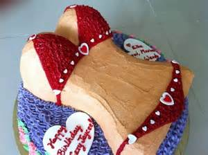 Is a bikini birthday cake too quot sexy quot for a 14 year old boy s birthday