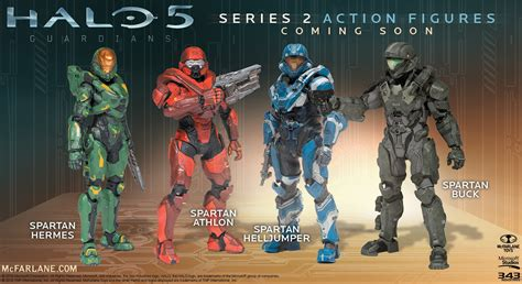 halo 5 figures series 2 halo 5 series 2 mcfarlane the home all things todd