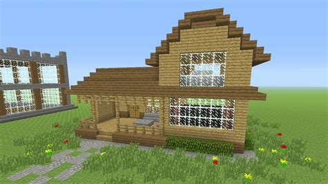 how to make minecraft houses minecraft tutorial how to make an awesome wooden survival