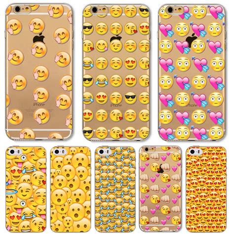 Best Seller For Iphone 6 6s Plus Smiley aliexpress buy emoji emoticons for apple iphone 6 6s 6plus 6s plus 5 5s transparent