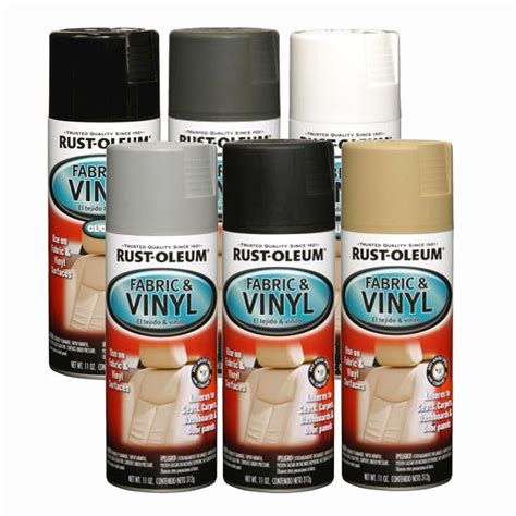 vinyl upholstery spray paint rust oleum fabric vinyl spray paint car seats dashboards