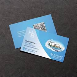 travel agency business cards business card howard burke travel by agmstudios