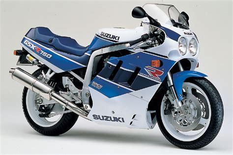 Suzuki Gsxr 750 History Suzuki Gsx R 750 1990 1999 History Part 3 Motorcycles