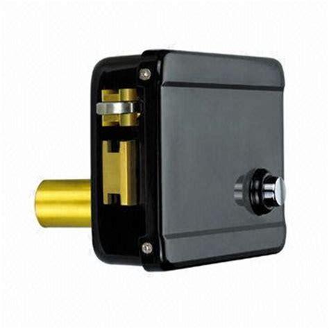 Electric Door Lock by Electric Door Lock Single Connected Cylinder Reversible