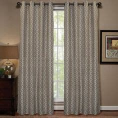 Buy Curtain Panels Buy Regal Home Woodgrain Lined 84 Inch Grommet Window