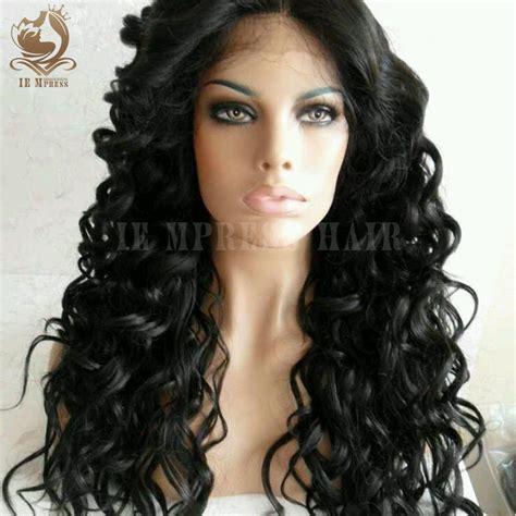 hair curly glueless lace human hair