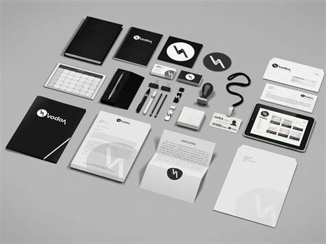 branding kit template corporate and brand identity mock up by creartdesign