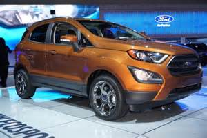 Ecosport Ford Ford Ecosport Subcompact Suv Finally Debuts In Us