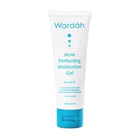 Wardah Acne Perfecting Gel Spf18 jual skin care acne perfecting moisturizer gel spf 30