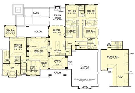 gardner floor plans ranch house plans donald gardner house plans luxamcc